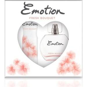 EMOTION FRESH BOUQET EDT50MLDEODORANT 150ML SET
