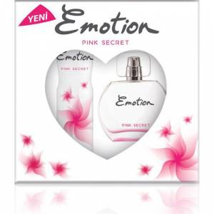 EMOTION PINK SECRET EDT 50MLDEODORANT 150ML SET