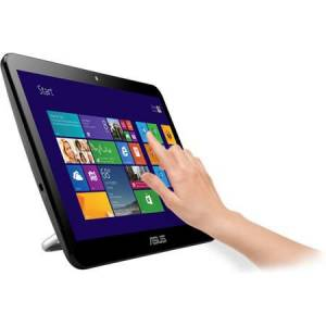 ASUS A4110-PRO16BTD J3160 4GB 128GB SSD MULTITOUCH DOKUNMATİK EKRAN 15.6 SİYAH DOS ALL IN ONE PC