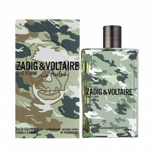 Zadig  Voltaire This Is Him No Rules EDT 100 ml Erkek Parfüm
