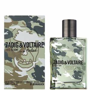 Zadig  Voltaire This Is Him No Rules EDT 50 ml Erkek Parfüm