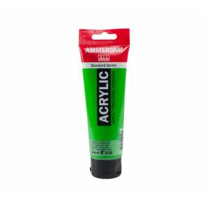Talens Amsterdam Akrilik Boya 120 ml. 618 Permanent Green Light