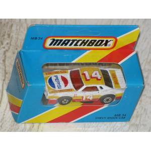 MATCHBOX  Chevy Stock Car no:34 Kapalı Kutu