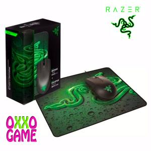 PC Razer Abyssus 2000 Oyuncu Mouse  Goliathus Speed Mouse pad