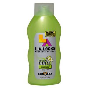 L.A. Looks Nutra Curl Moisturizing Gel Hold Level 8 567G