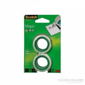 Scotch Magic Bant 2li Refil Paket 19mm x 75m