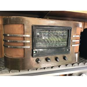 T*T*** RCA VICTOR MADE IN USA AHŞAP RADYO