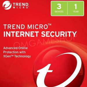 3 PC 1 YIL TREND MICRO INTERNET SECURITY 2019 LİSANS KEY
