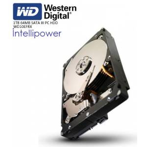 WD 3.5 RED 1TB INTELLIPOWER 64MB SATA3 NAS HDD WD10EFRX 724