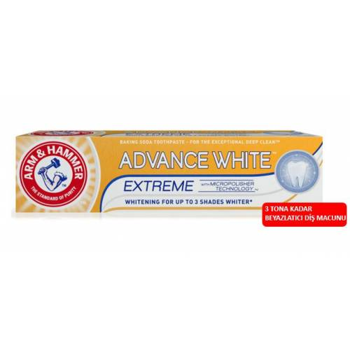 Arm and Hammer Advance White Extreme Whitening 3 TONA KADAR 75ml 431683582