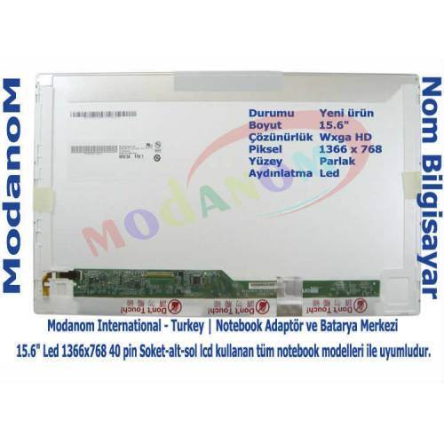 Casper Nirvana MB51IA1 Ekran 15.6 Led Panel Lcd Ekran 431748398