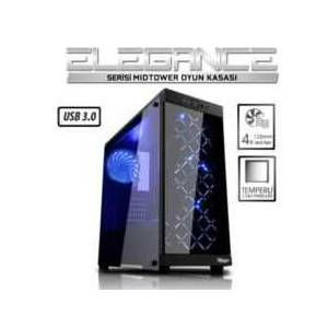 Power Boost Vk-G1006b  Atx Usb 3.0 Tempered Glass  Siyah Kasa Psu Yok