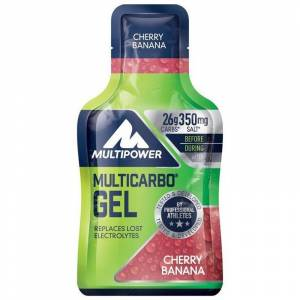 Multipower Multicarbo Gel 40 Gr KİRAZ - MUZ