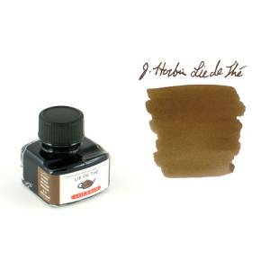 J. Herbin Dolma Kalem Şise Mürekkep 30ml - Lie De The
