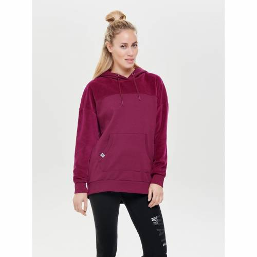 Only Sweat Onpmanna Brushed Long Velvet 15154955-RHO Rhododendron 433140552