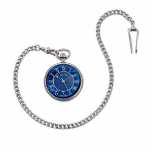 Dalvey Compact Pocket Watch Blue Mother of Pearl DLV 03306