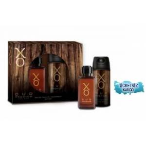 XO OUD PREMIUM FOR MEN 100ML PARFÜM 125ML DEO SET