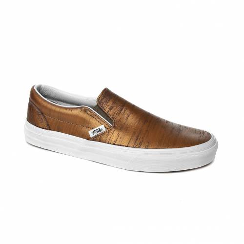 Ayakkabi Kadın Vans V3DVHXW CLASSIC SLIP-ON ASIATAN-PAINTER GOLD