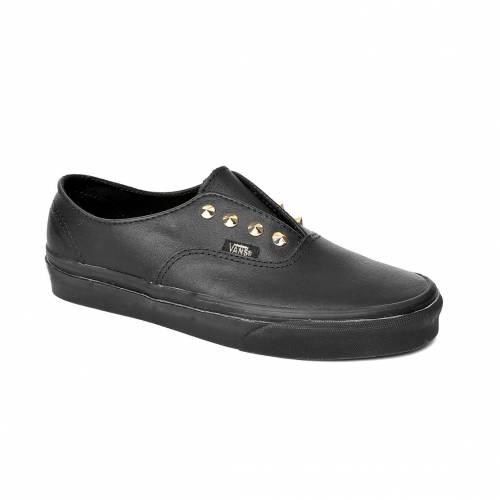 Ayakkabi Kadın Vans VZSKI3P AUTHENTIC GORE (STUDS) LEATHER/BLACK