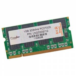 LONGLINE 1GB 333MHz DDR NOTEBOOK MEMORY PC2700 LNG333S1G