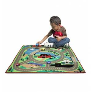 Melissa&Doug Round The Town Road Rug