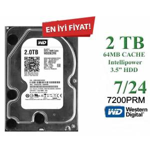 2TB gb Western Digital 3.5 HARDDİSK Seagate 64MB Intellipower Sata 6.0GbS