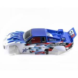 TEAM ASSOCIATED 7998 GT2 INTERCEPTOR WHITEBLUE BODY