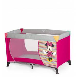 Hauck Dream N Play Minnie Mouse Seyahat Yatağı / Geo Pink 19