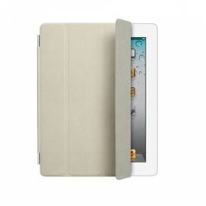 Apple iPad Krem Deri Smart Cover MD305ZM/A