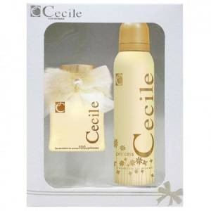 CECILE PRINCESS EDT 100MLDEODORANT 150ML SET