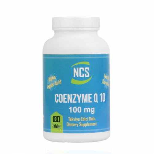 NCS COENZYME Q10 100 MG 180TABLET L CARNİTİNE ALPHA LİPOİC ACİD İÇERİKLİ 434834155