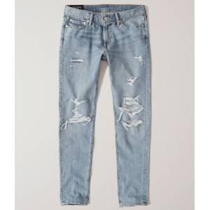 Abercrombie & Fitch Pantolon Ripped Skinny 131-318-1462-278