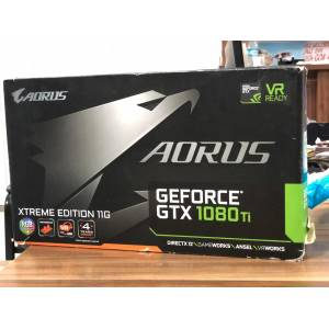 Gigabyte AORUS GTX 1080 Ti Waterforce WB Xtreme Edition 11GB 352Bit GDDR5X GV-N108TAORUSX WB-11GD