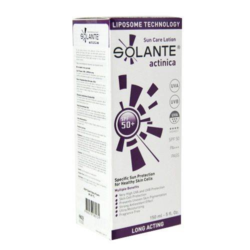 Solante Actinica Spf 50 Sun Care Lotion 150 ml 435739416