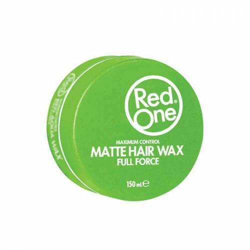 Red One Green Matte Hair Wax Full Force 150 ML 436106281