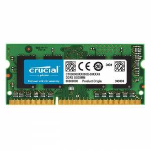 Crucial 8GB DDR3 1600MHZ CL11 CT102464BF160B Notebook Ram