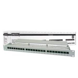 Digitus DN-91624S 19 Inch 24 Port Cat-6 Ftp Patch Panel Zırhlı