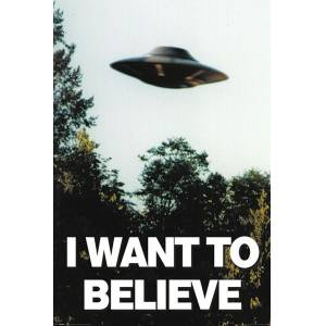 Pyramid International Maxi Poster X-Files I Want To Believe