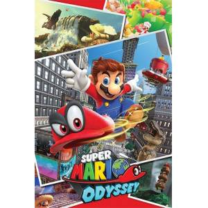 Pyramid International Maxi Poster Super Mario Odyssey Collage