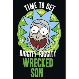 Pyramid International Maxi Poster Rick And Morty Wrecked Son