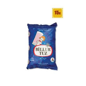 Billur Tuz 1500 Gr 15li Set