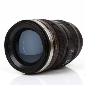 Camera Lens Coffee MugStainless Steel Insulated Cup