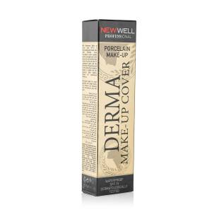 NEW WELL DERMA MAKE-UP COVER FOUNDATION - GOLD