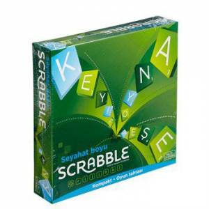 Mattel Scrabble Travel Türkçe CJT14