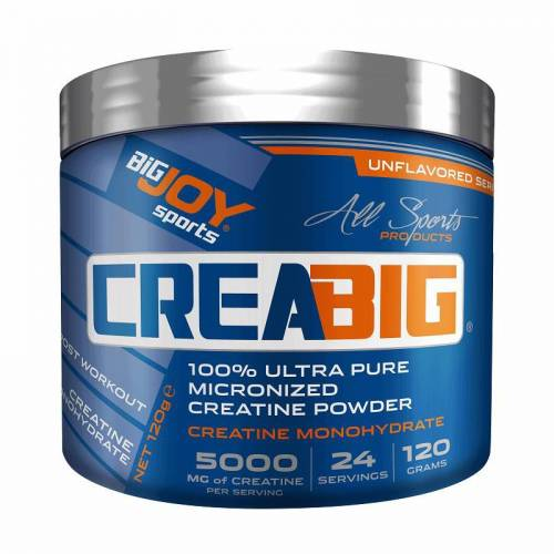 Big Joy Crea Big Micronized Creatine Powder 120 Gr AROMASIZ 438982362