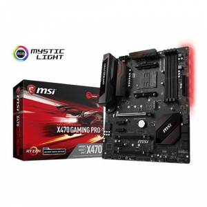 MSI AMD X470 GAMING PRO X470 DDR4 3466OC DVI HDMI GLAN AM4 M.2 USB3.1 ATX