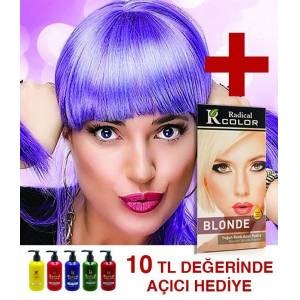 Radical Color Amonyaksız Su Bazlı Saç Boyası 250ml JEANS COLOR TARZI