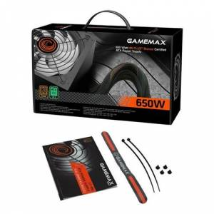 Gamemax Gp-650 80Bronze14Cmfan Psu 650W