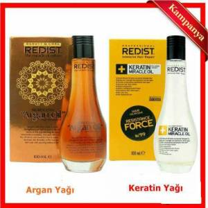 REDİST KERATİN YAĞI 100ML  ARGAN YAĞI 100 ML.