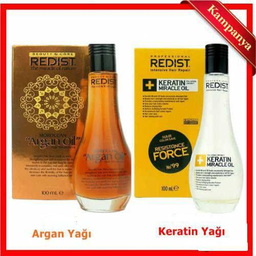 REDİST KERATİN YAĞI 100ML  ARGAN YAĞI 100 ML. 440535107